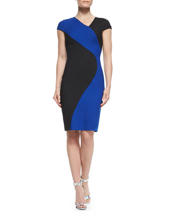 Colby Colorblocked Sheath Dress