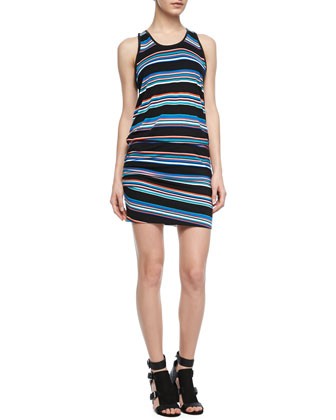 Paloma Striped Sleeveless Dress