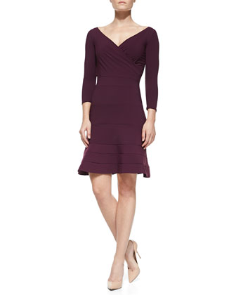 Brunella Half-Sleeve Dress