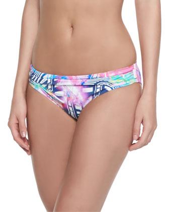 Lollypop Printed Pushup Bikini Top & Bikini Bottom