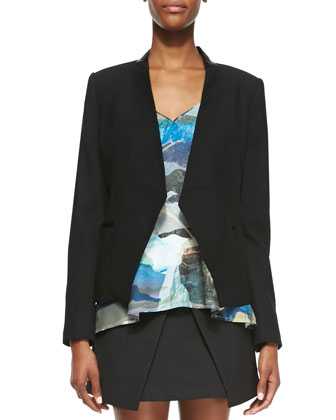 Run Alone Tuxedo Jacket