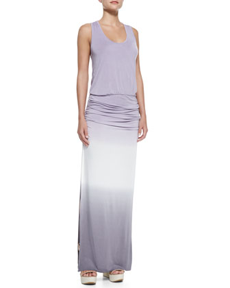 Mel Ruch-Waist Maxi Dress