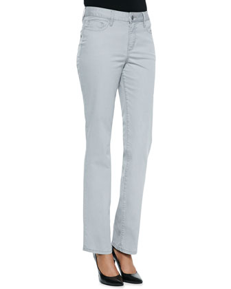 Madison Carmel Twill Straight-Leg Jeans