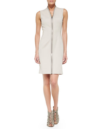 Mirir Sleeveless Zip-Front Dress