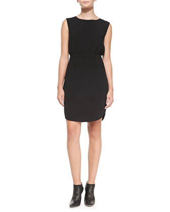 Ballia Register Sleeveless Ponte Dress