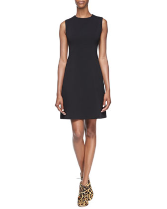sicily sleeveless a-line dress