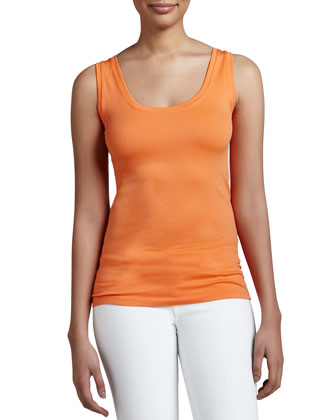Long Stretch Tank Top