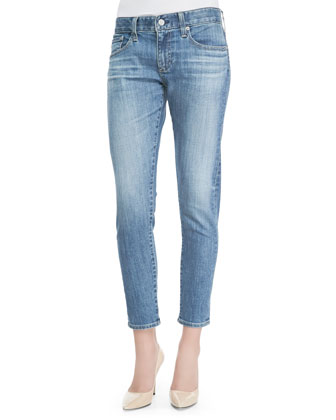 Nikki 18 Years Enchantment Cropped Relaxed Faded Jeans