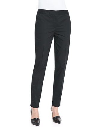 Bruna Stretch-Twill Pants
