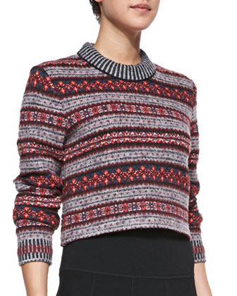 Hailey Crewneck Sweater