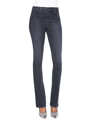 Remy Boot-Cut Stretch Jeans, Transmission