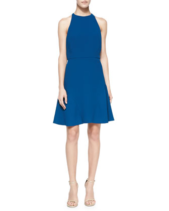 Behati Sleeveless Bi-Stretch Dress