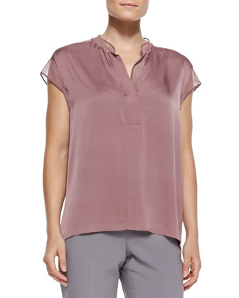 Eva Stretch-Georgette Blouse