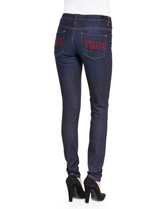 Alabama?? Roll Tide Branded Skinny Jeans, Blue