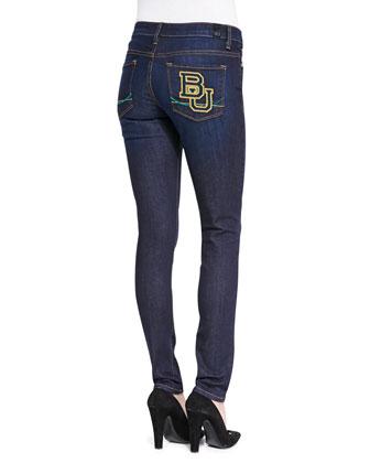 Baylor?? Branded Skinny Jeans, Blue