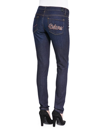 Florida?? Gators Branded Skinny Jeans, Blue