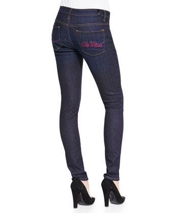 Ole Miss?? Branded Skinny Jeans, Blue