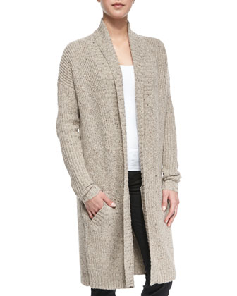 Fremont Ribbed Knit Sweater Coat