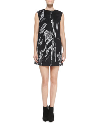 Izadora Printed Sleeveless Dress