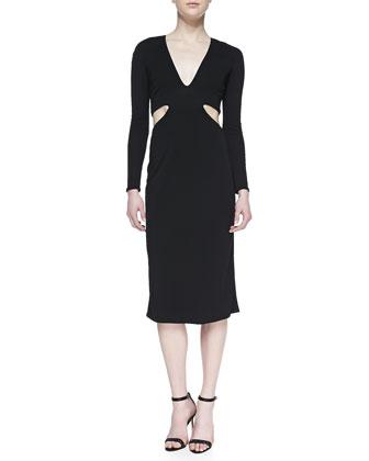 Jersey Cutout Dress