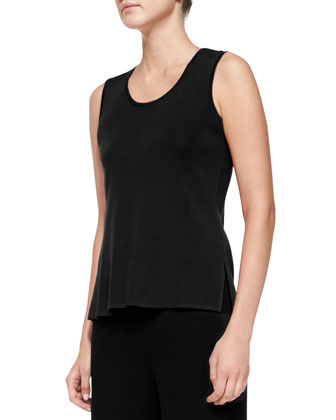 Knit Scoop-Neck Tank Top, Women's