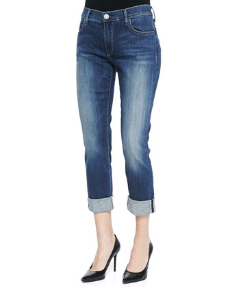 Audrey Faded Denim Jeans