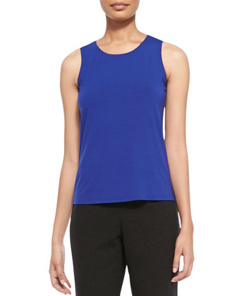 Jewel Neck Shell, Women's