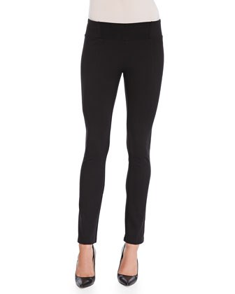 Rayon Knit Skinny Pants, Women's