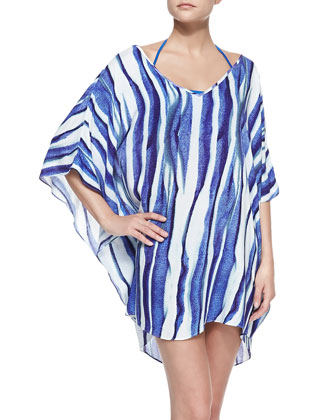 Baoba Karen Striped Caftan Coverup