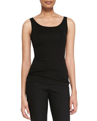 Mini-Rib Long Tank, Women's