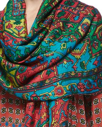 Samaira Silk Printed Scarf