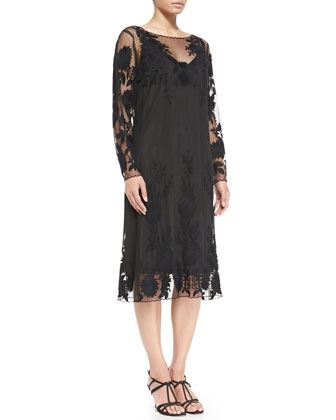 Dogma Floral Lace Dress, Women's