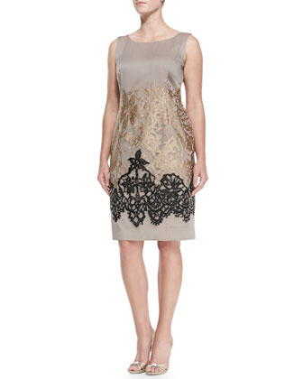 Dinamo Lace-Detail Dress, Women's