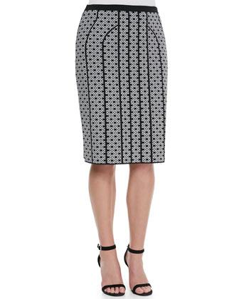 Gange Printed Jacquard Skirt, Women's