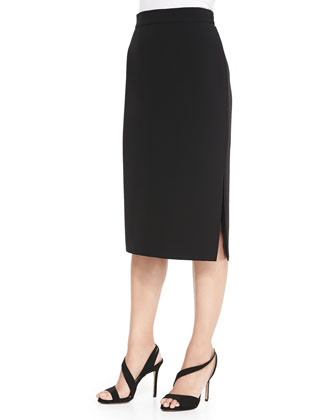 Cile Crepe Pencil Skirt, Women's