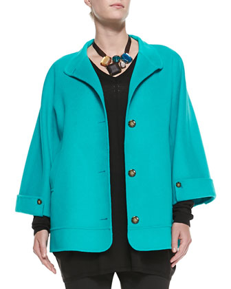 Narcisco Double-Face Felt Jacket, Women's