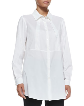 Bardo Poplin Long Shirt, Women's