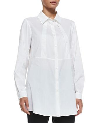 Bardo Poplin Long Shirt, Women's