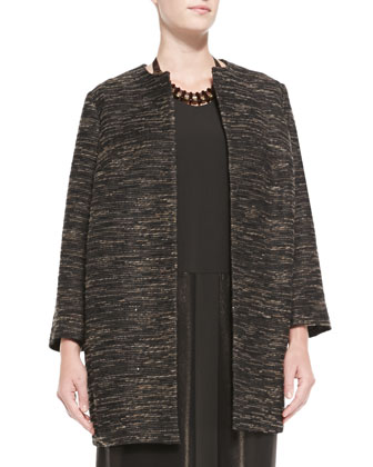 Long Textured Jacket, Women's