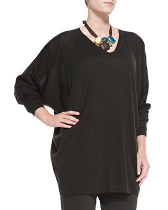 Argento Merino V-Neck Sweater, Women's