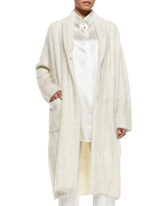 Milazzo Fuzzy Knit Coat, Women's