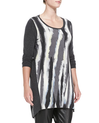 Ginni Knit Long Tunic, Women's
