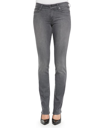 Faith-Cut Straight-Leg Jeans, Preston