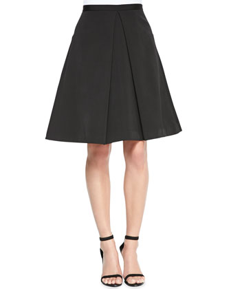 Katia Faille Cropped Top & Pleated Skirt