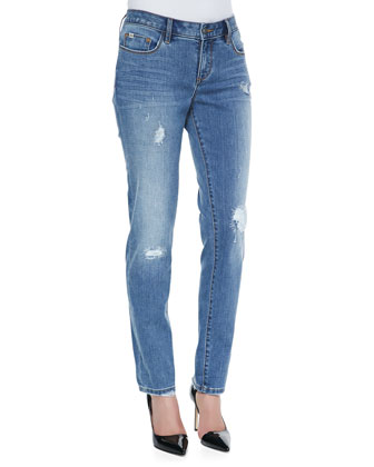 Soft Vintage Distressed Diane Boyfriend Jeans