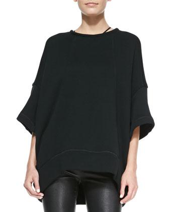 Waft Oversize Knit Sweatshirt