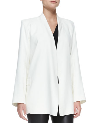 Noa Open-Front Suiting Jacket