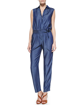 Olimpia V-Neck Jumpsuit