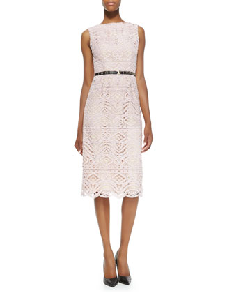 Cara Lace Sheath Dress