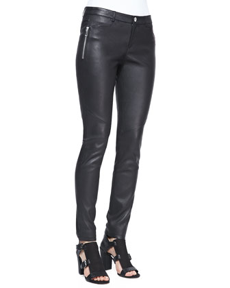 Wheeler Leather Pants